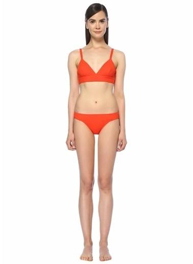 Dnud Dikiş Detaylı Bikini Takım Kırmızı